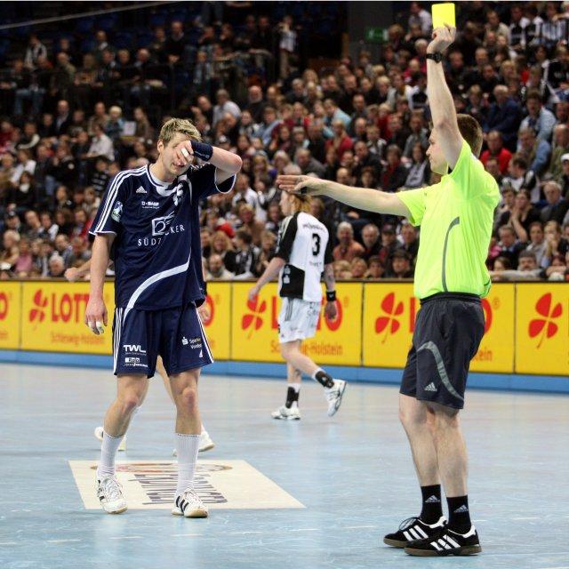Handball Gelbe Karte