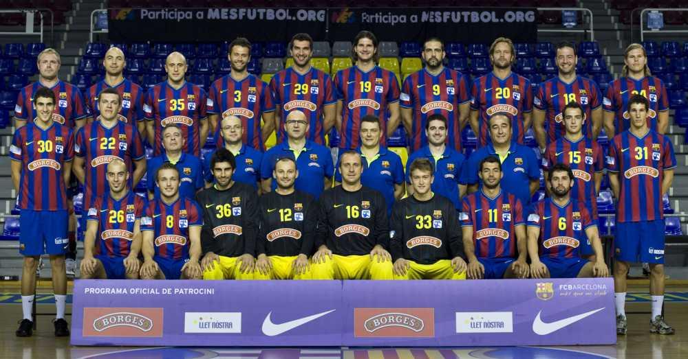 fc barcelona handball kader