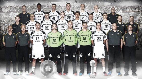 THW Kiel: the champion...